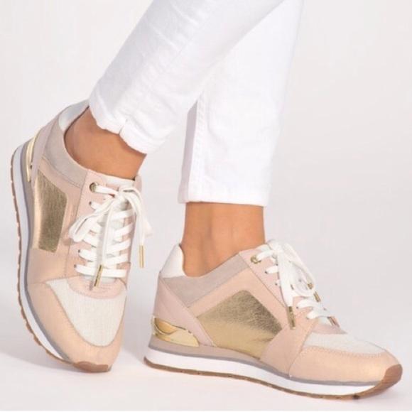 Michael Kors Billie Metallic Sneakers
